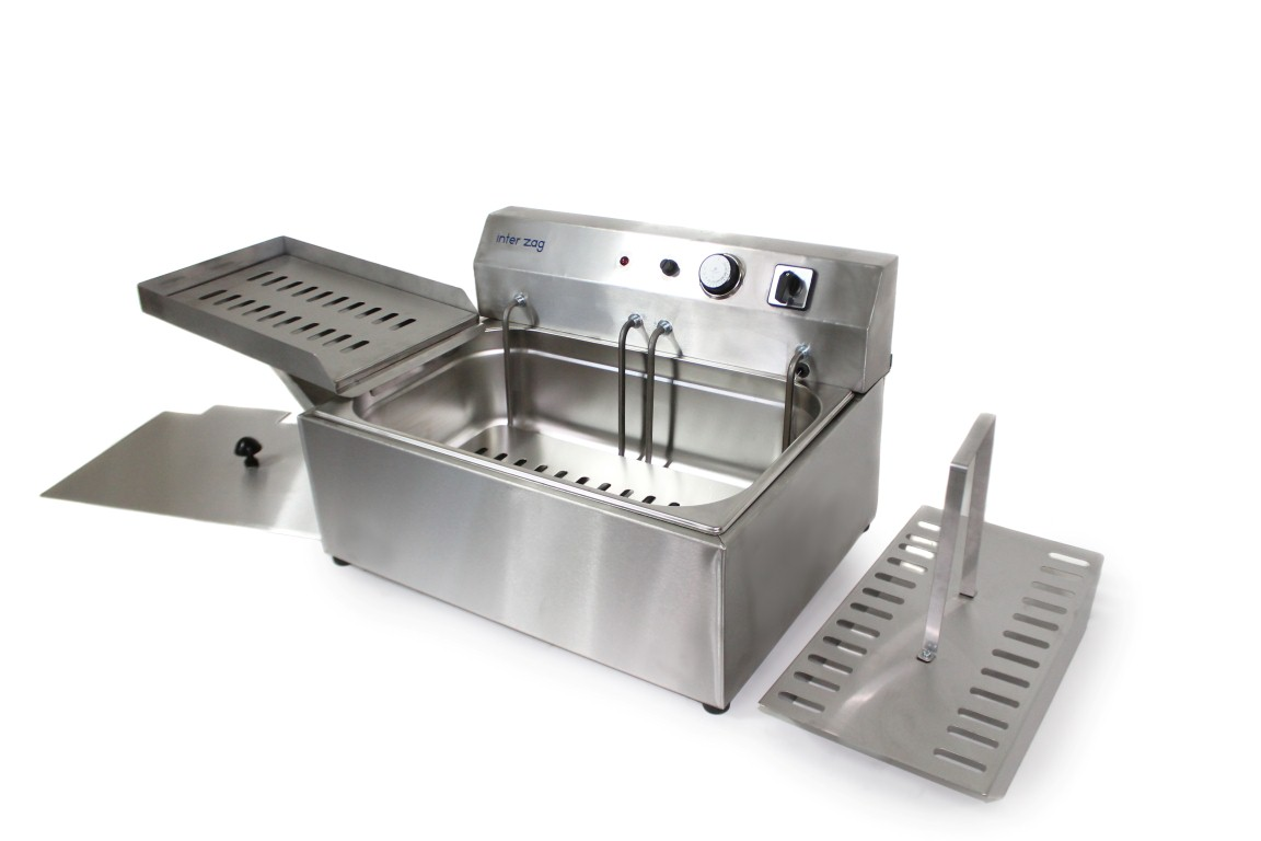Electric Fryer 804 Interzag Commercial Equipment